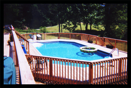 Building deck / decks and fence / fences around pools and possible Gazebo.