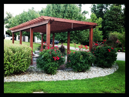 A design of a Pergolas / Pergola to show you how outstanding they can look in your back yard!
